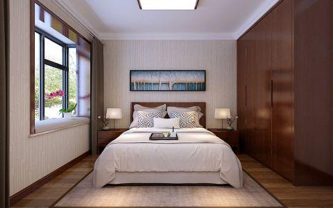 卧室衣柜中式风格装修设计图片