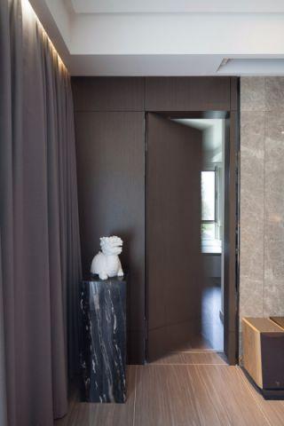 玄关窗帘现代风格装修图片