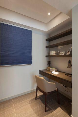 书房窗帘现代风格装饰图片