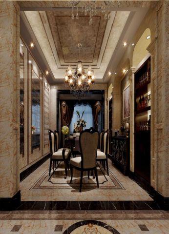 餐厅吊顶欧式风格装潢设计图片