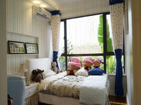 儿童房窗帘美式风格装修效果图