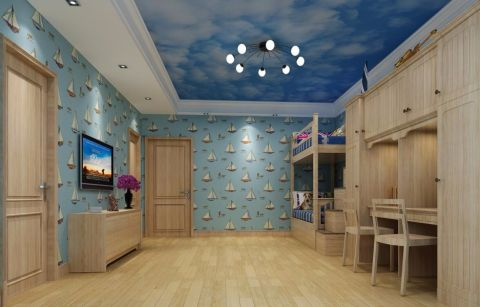 现代风格330平米3房2厅房子装饰效果图