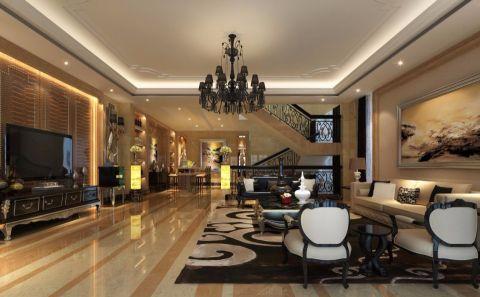 现代风格350平米别墅房子装饰效果图