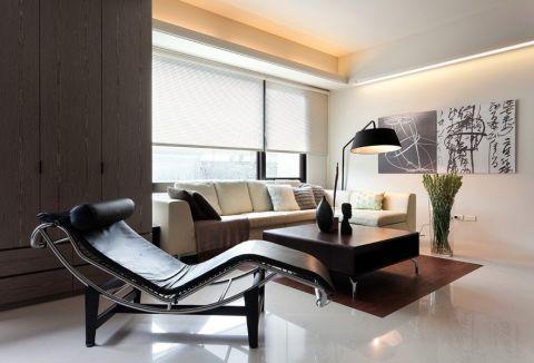 北欧风格80平米2房2厅房子装饰效果图