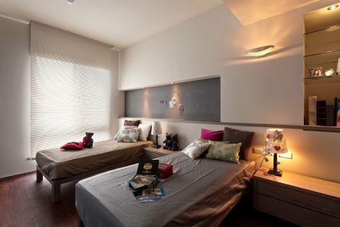 卧室吊顶北欧风格装饰图片