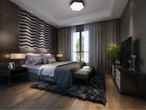 现代风格330平米别墅房子装饰效果图