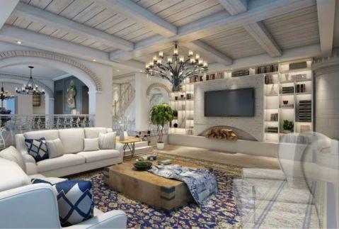 北欧风格300平米别墅房子装饰效果图
