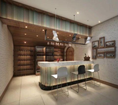 酒窖吧台北欧风格效果图