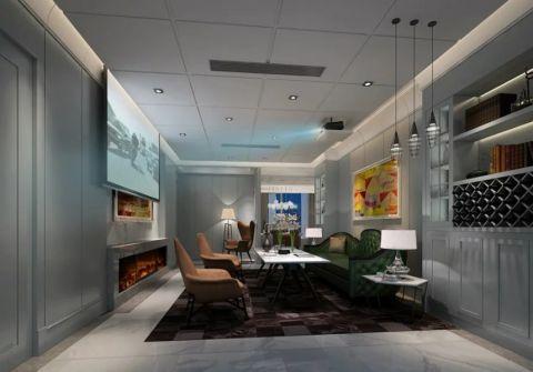 现代风格170平米套房房子装饰效果图