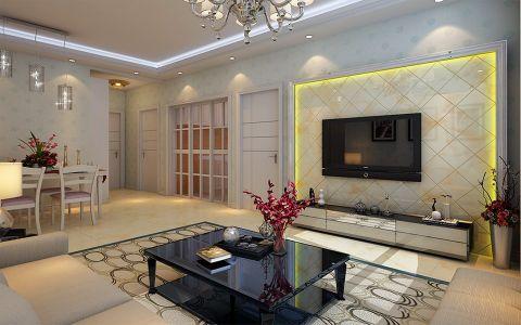 客厅走廊简约风格装修图片