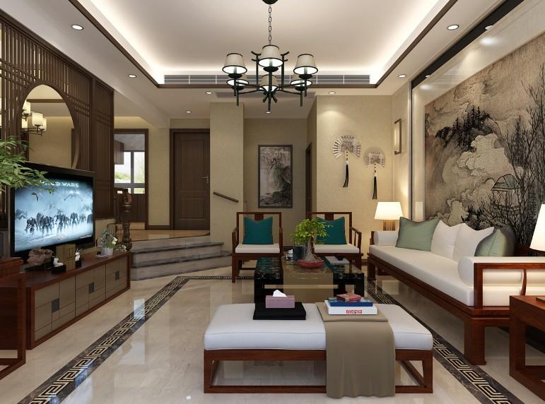 4室3卫3厅240平米新中式风格