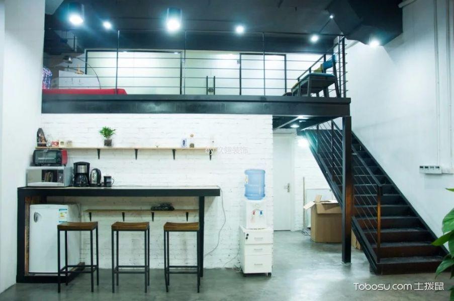 矩阵国际办公室阁楼装修实景图片