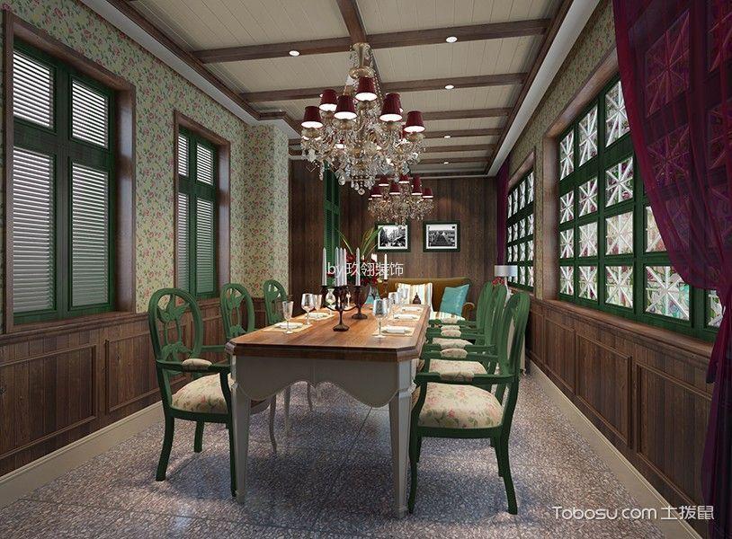 新中式风格茶餐厅包厢装潢实景图片