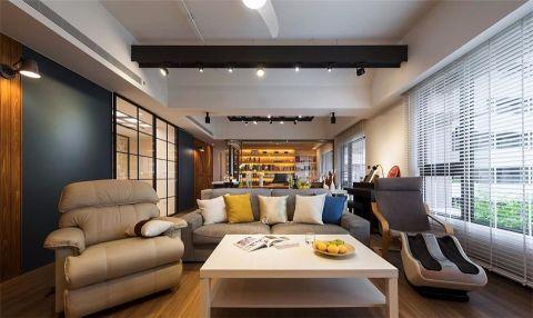 客厅窗帘北欧风格装修效果图