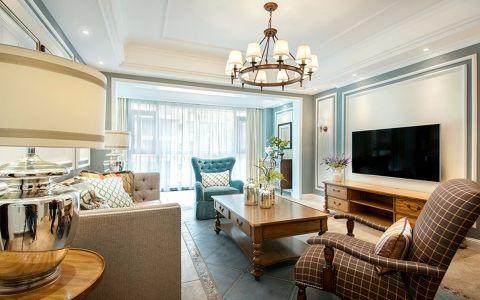简欧风格90平米两室两厅室内装修效果图