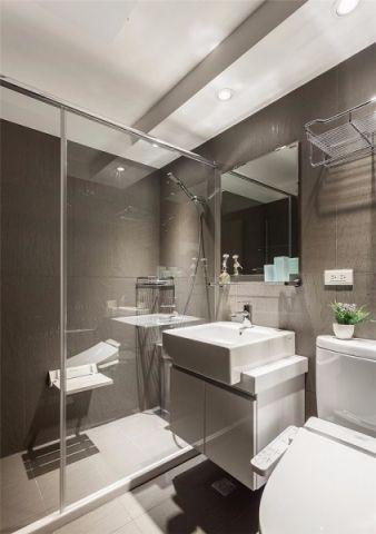 卫生间吊顶北欧风格装修图片