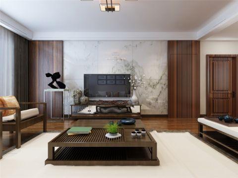 简中风格190平米四房两厅新房装修效果图