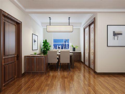 餐厅地板砖简中风格装潢设计图片