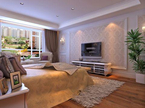卧室窗帘现代欧式风格装修效果图