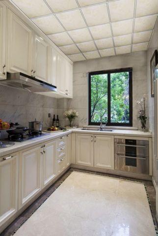 厨房吊顶现代欧式风格装修图片
