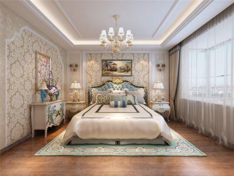 卧室灯具简欧风格装修效果图