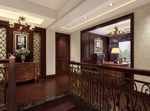 玄关吊顶混搭风格装饰设计图片