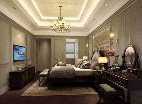 卧室灯具混搭风格效果图