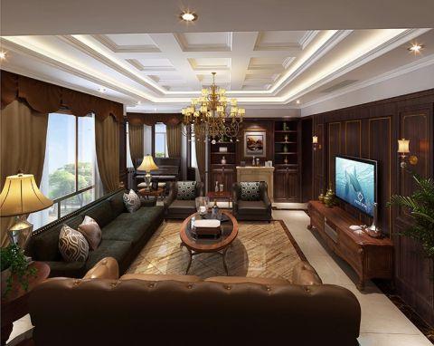 混搭风格650平米别墅新房装修效果图