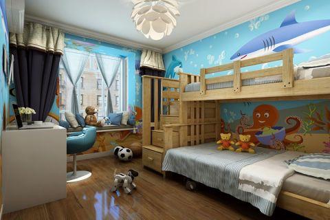 卧室背景墙现代风格装修效果图
