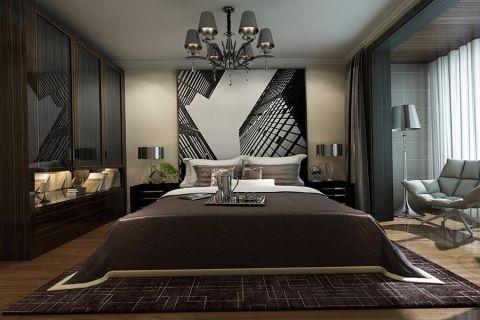 卧室吊顶现代风格装饰效果图
