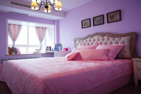 卧室美式风格装潢图片