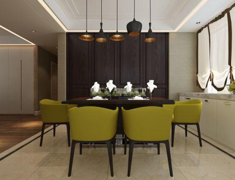 餐厅灯具简约风格效果图