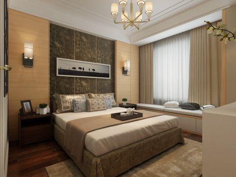 卧室灯具简约风格装潢效果图