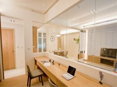 简约风格88平米3房2厅房子装饰效果图