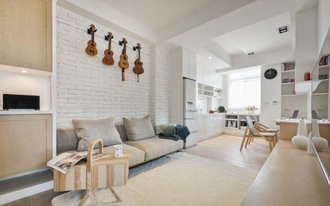 北欧风格80平米小户型室内装修效果图