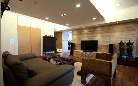 法式风格148平米三室两厅室内装修效果图