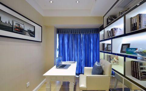 书房窗帘现代风格装饰效果图