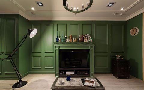 客厅地板砖美式风格装修效果图