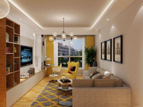 现代风格134平米3房2厅房子装饰效果图