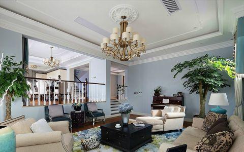 简约风格300平米别墅房子装饰效果图