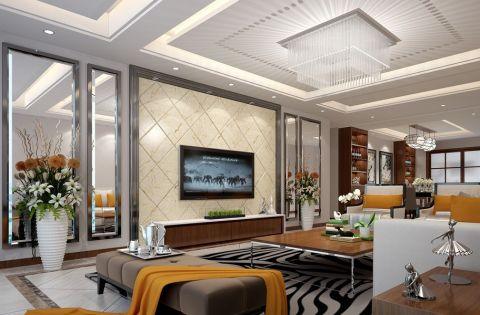混搭风格150平米4房2厅房子装饰效果图