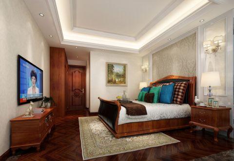卧室地板砖混搭风格装潢设计图片