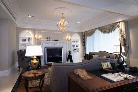 客厅欧式风格装饰效果图