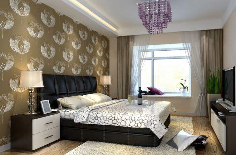 卧室吊顶现代简约风格装修图片