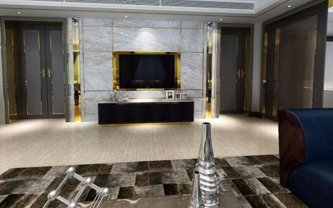 现代风格300平米大户型室内装修效果图