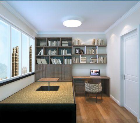 简约风格108平米公寓室内装修效果图