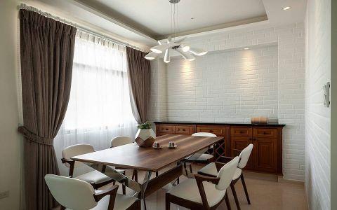 餐厅窗帘现代风格装潢设计图片