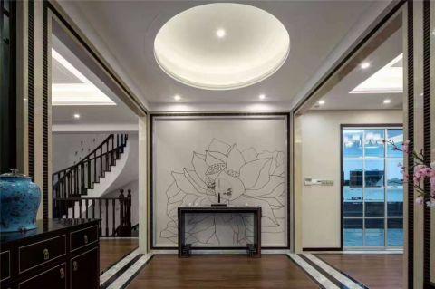 玄关吊顶新中式风格装饰效果图