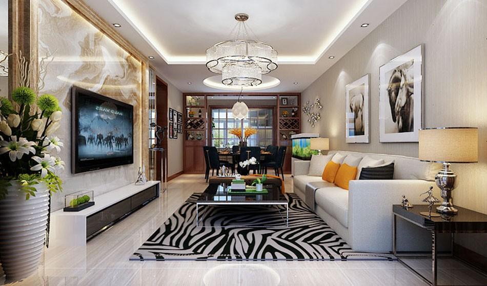 2室1卫1厅140平米现代简约风格