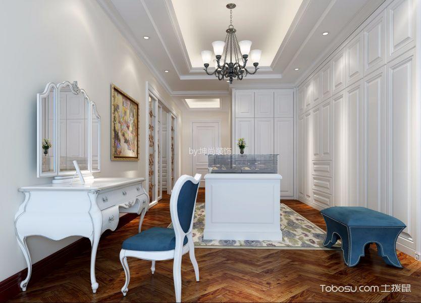 衣帽间 背景墙_北欧风格180平米公寓新房装修效果图